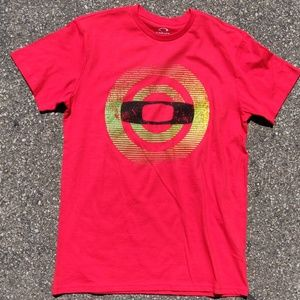 Oakley red t-shirt Hypnotic O tee